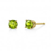 Stanton Color 14k Gold Peridot Earrings